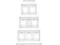 Rutt Handcrafted Cabinetry Morgan Galley Sink Base Options