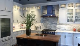 Manhattan Center for Kitchen + Bath Showroom Rutt Exeter Cabinetry Display